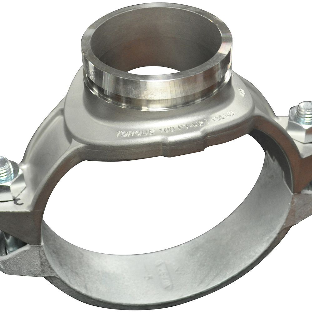 Style 422 Stainless SteelMechanical-T Outlet