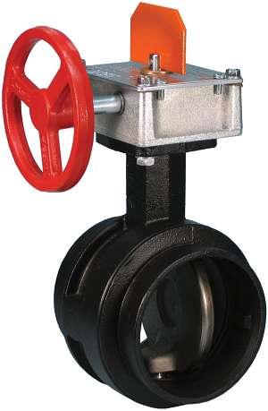 Válvula mariposa de alta presión FireLock™ Serie 765 – Apertura supervisada