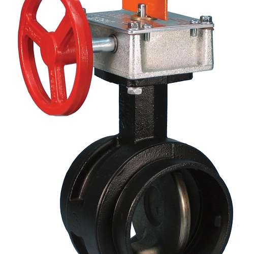 Series 766 FireLock™ High Pressure Butterfly Valve – Supervised Closed