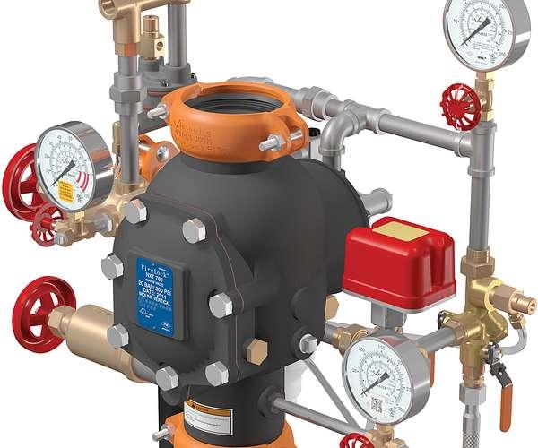 Válvula de preacción FireLock NXT™ Serie 769 con doble seguro y actuador neumático/eléctrico LPCB