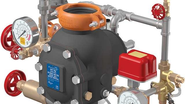 Vorgesteuerte FireLock NXT™ Ventilstation, elektrische Aktivierung, AutoConvert LPCB Serie 769