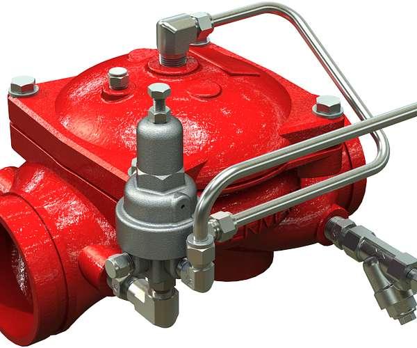 Válvula de alivio de presión Serie 867-4UF
