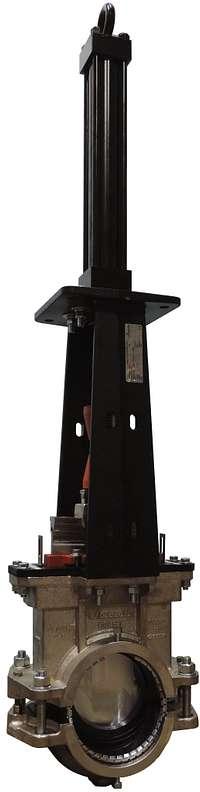 Plattenschieber für HDPE-Rohre der Serie 906