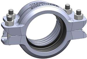 Style SC998 HDPE-to-Shouldered Transition Coupling