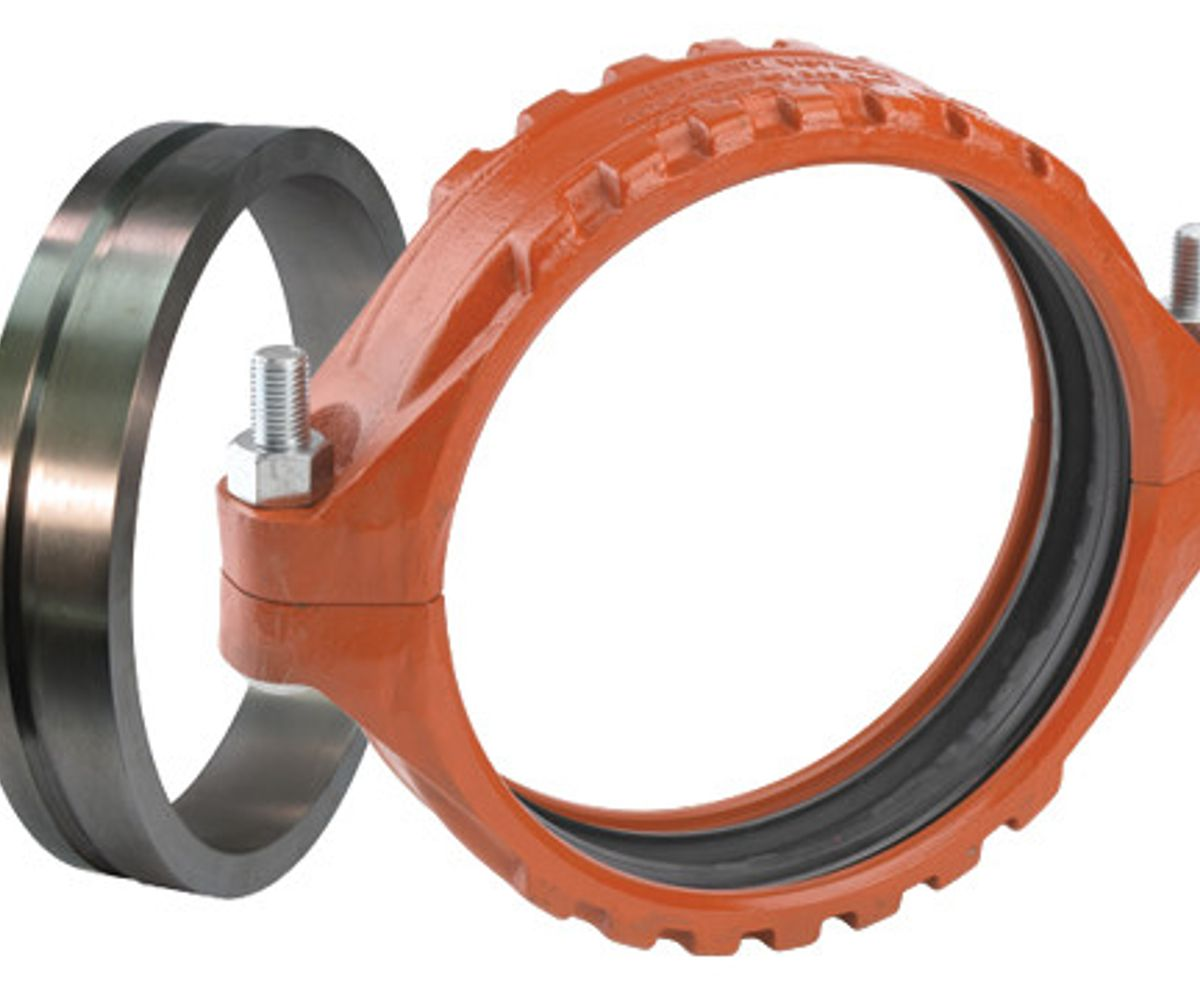 Style W77 AGS Flexible Coupling with Vic-Ring