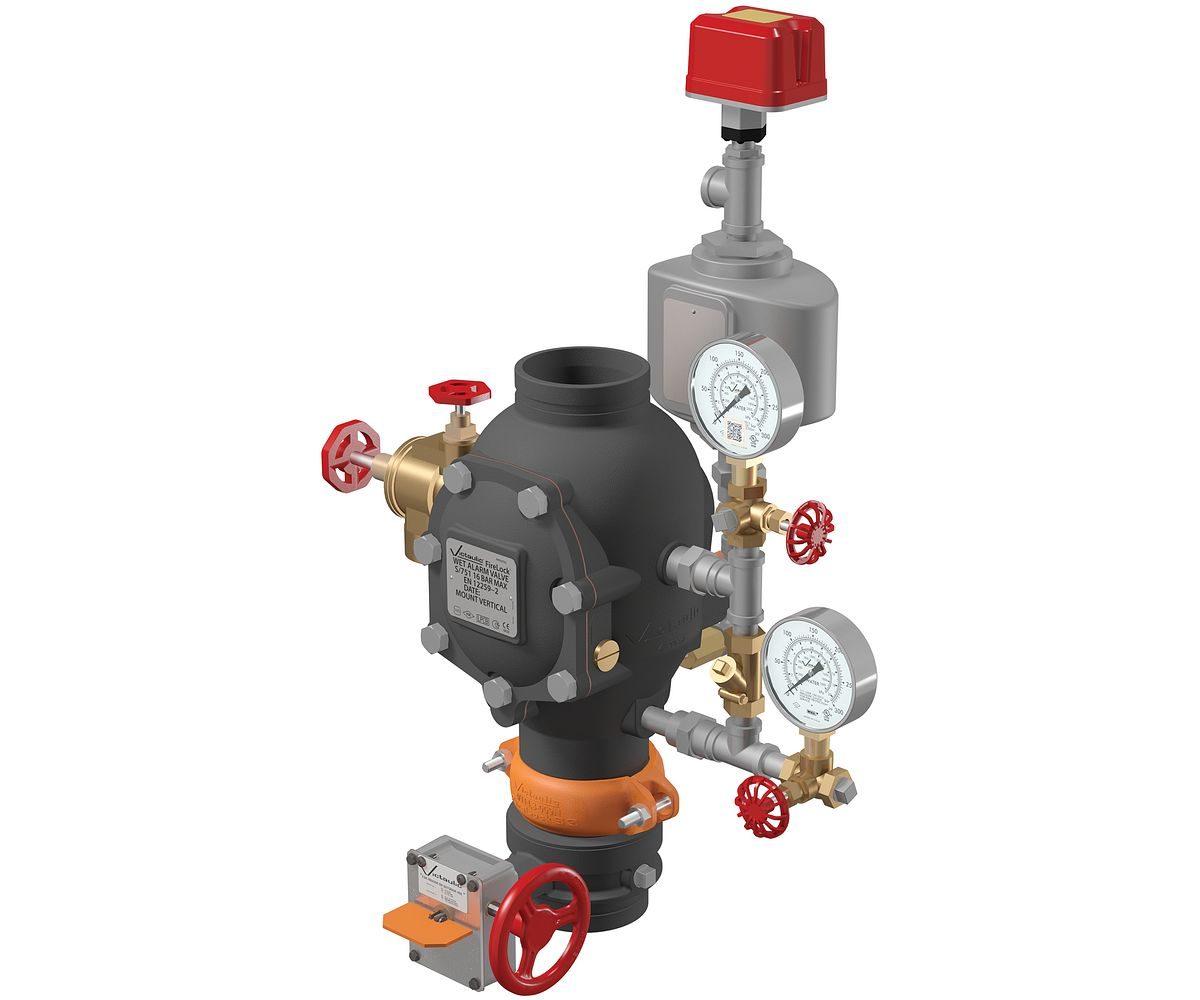 Fire Sprinkler System Alarm Check Valves Victaulic