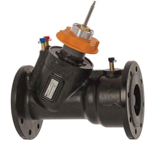 Robinet de régulation modulante et d'équilibrage et de la pression TA Série7MP