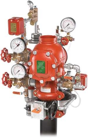 Vanne alternative sous eau/sous air série 764 FireLock NXT™