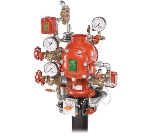 FireLock NXT™Ventilstation für nasse/trockene Hybridsysteme Serie 764