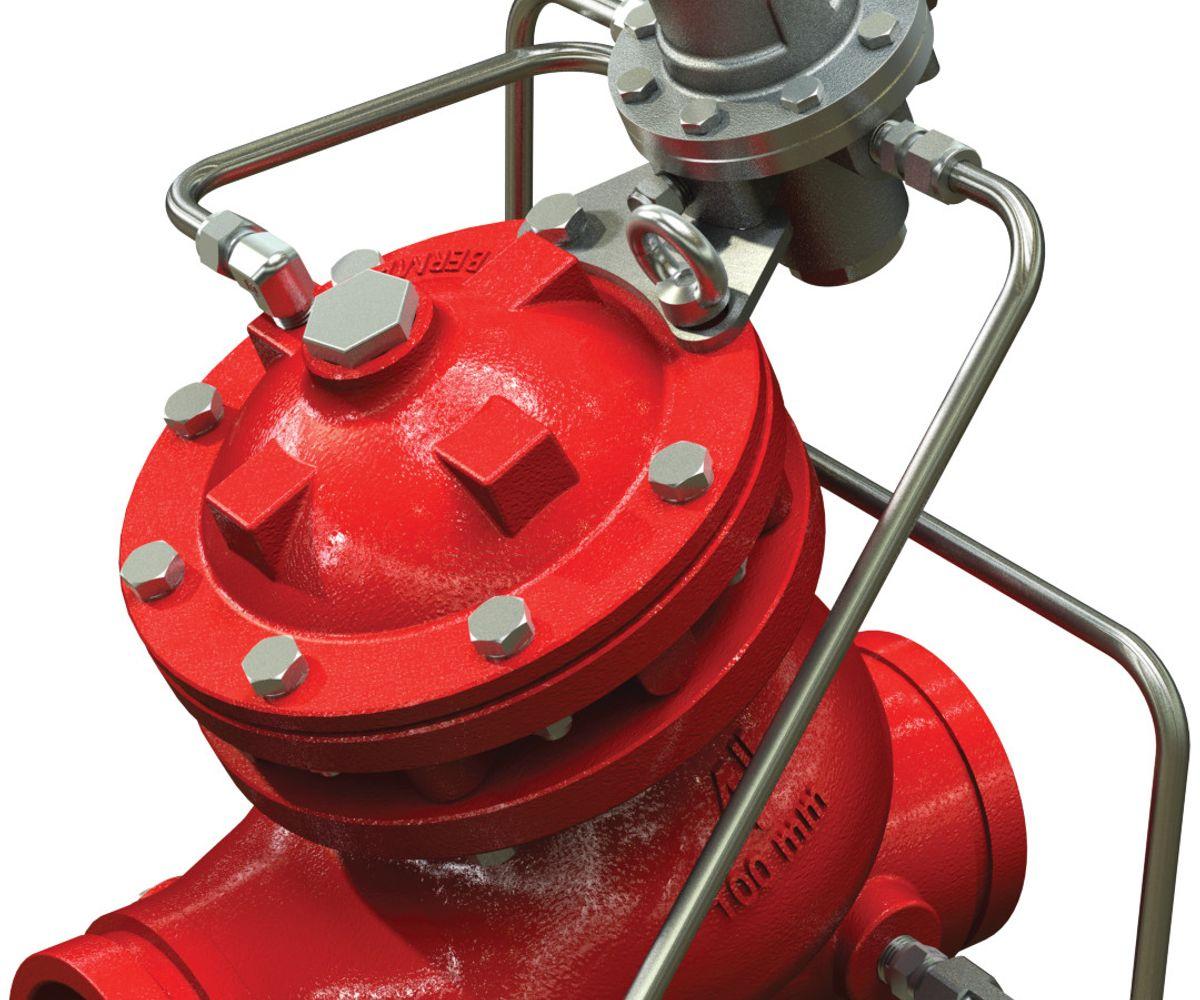 Válvula reductora de presión Serie 867-7UL