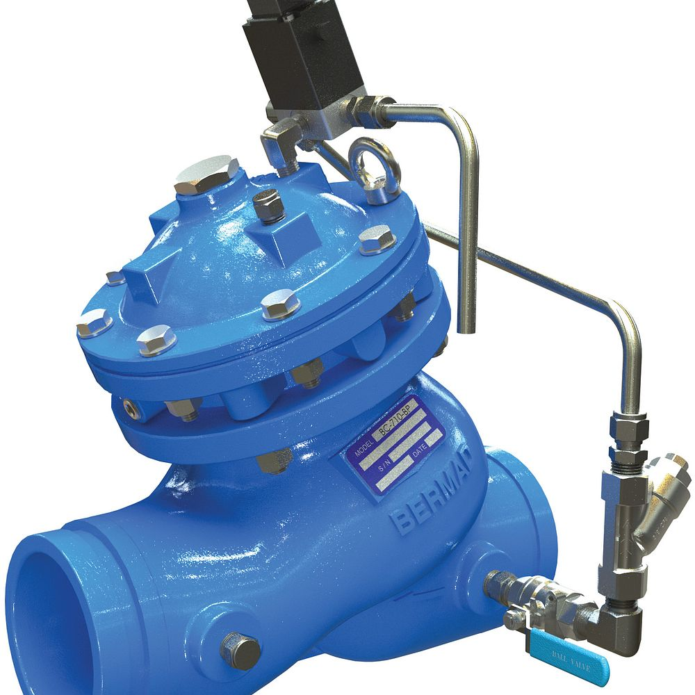 Solenoid Controlled Valve