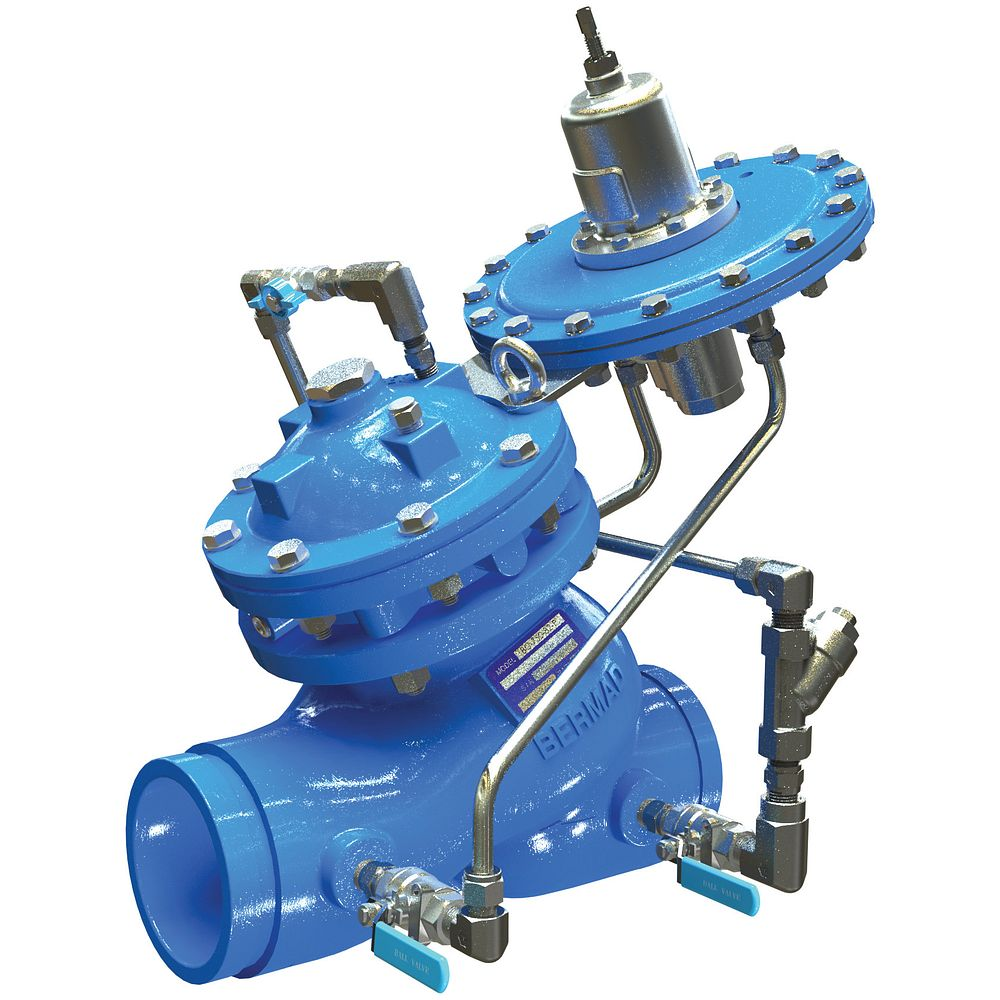 Series 975-82 Level Control Valve with Modulating Altitude Pilot