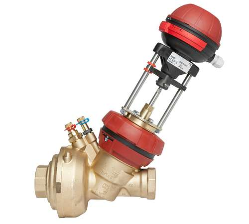 Válvula combinada de balanceo y control independiente de la presión TA Serie 7FP (FUS1ON P) (PIBCV)