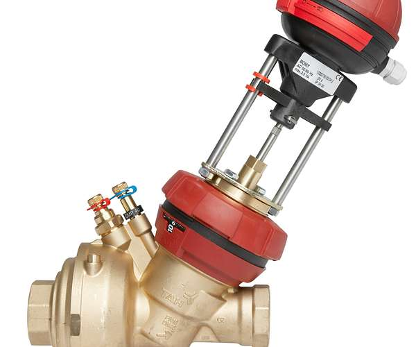 TA Series 7FP (FUS1ON P) Pressure Independent Combined Balancing and Control Valve (PIBCV)