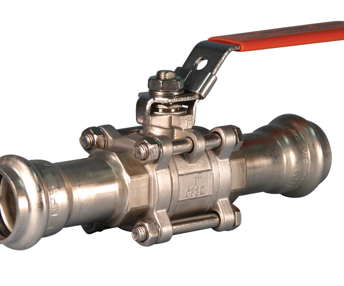 Style P569 Vic-Press™ Ball Valve for Type 316 Sch. 10S