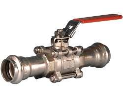 P569 系列 Vic-Press™ 球阀(用于 316 型壁厚 Schedule10S 管道)