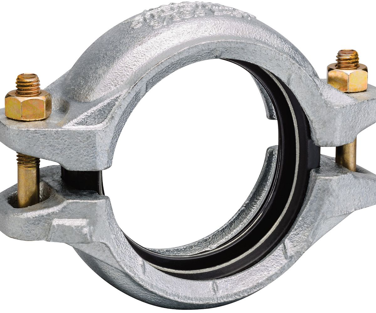 Style E497 StrengThin™ 100 Rigid Coupling for Stainless Steel