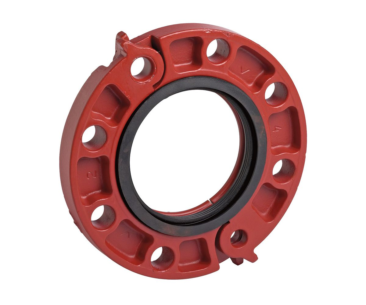 Flange adapters for pipe systems fire protection victaulic
