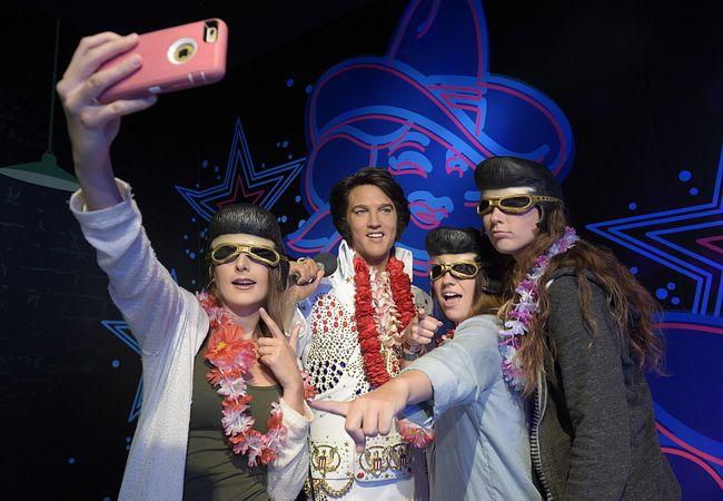 Elvis Presley at Madame Tussauds Orlando