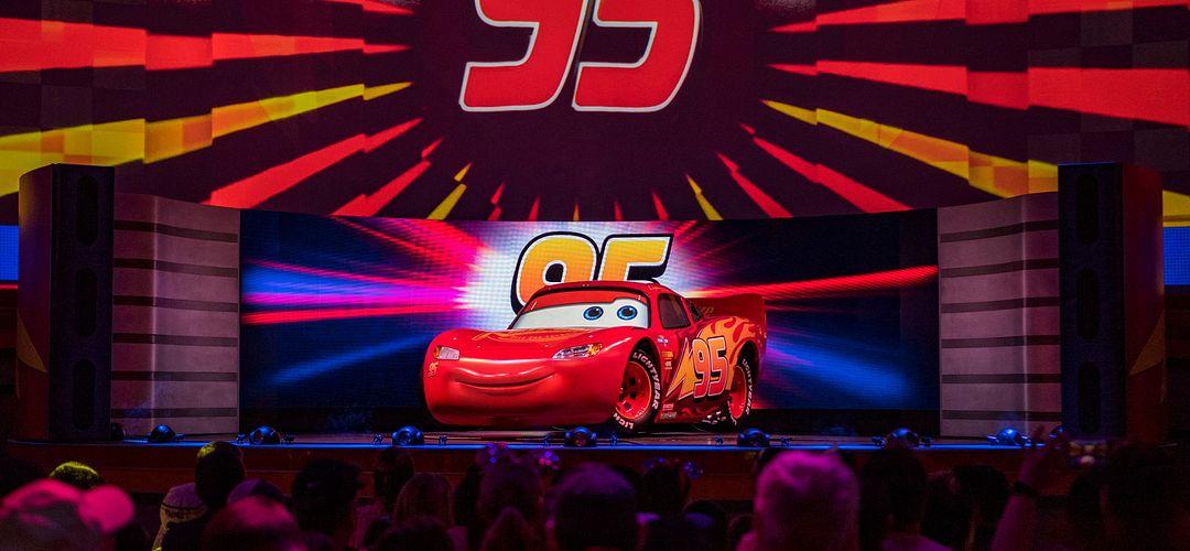 Lightning McQueen's Racing Academy at Disney's Hollywood Studios in Orlando