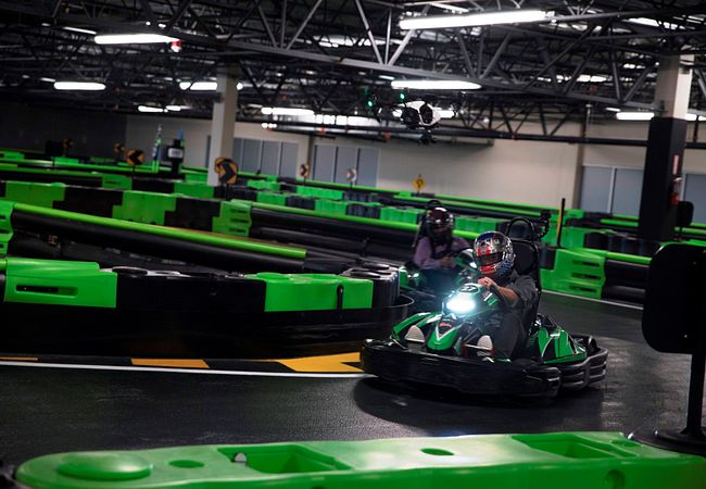 Andretti Indoor Karting & Games is one of many Orlando attractions that cost $20 or less.