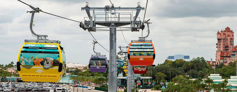 Disney Skyliner at Walt Disney World Resort in Orlando