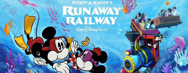 Mickey & Minnie's Runaway Railway at Walt Disney World Resort in Orlando