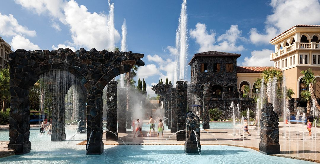 Pool Splash Zone at Four Seasons Resort Orlando at Walt Disney World Resort