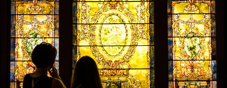 O Museu Charles Hosmer Morse de arte americana vitrais
