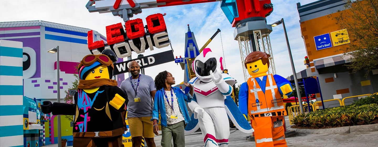 THE LEGO MOVIE WORLD at LEGOLAND Florida Resort