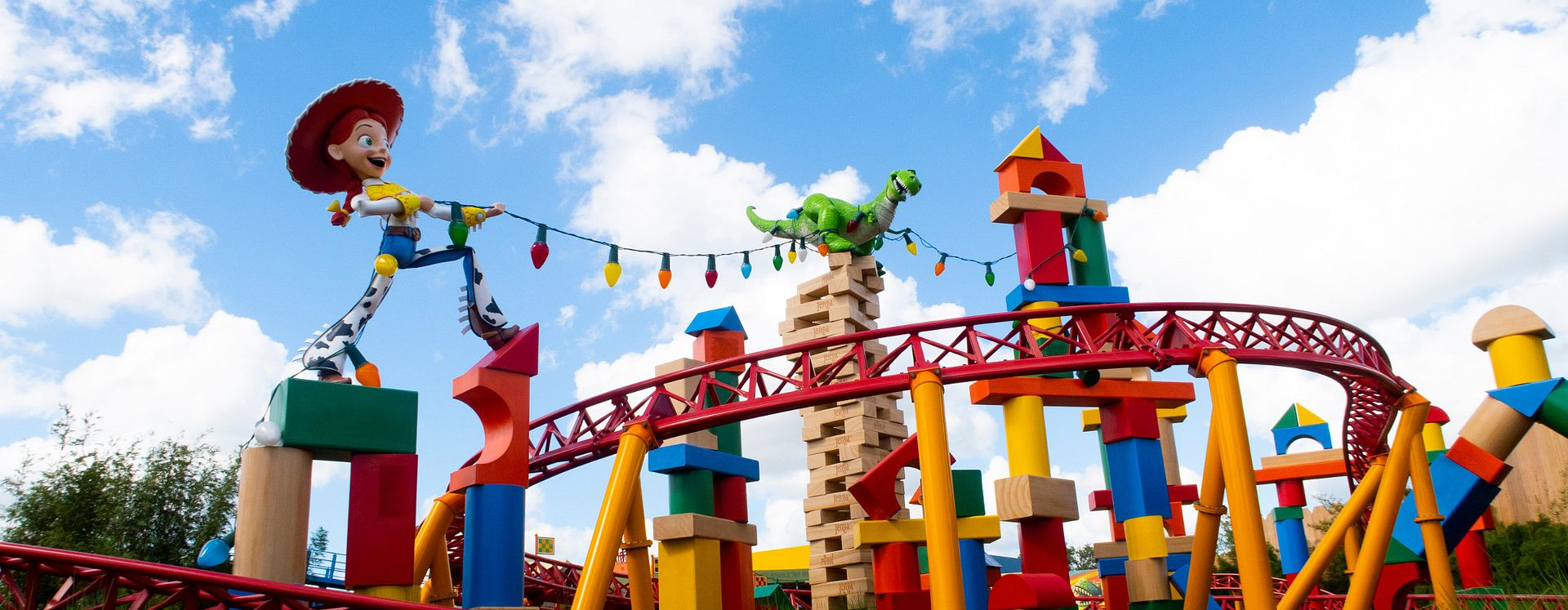 Jessie's rollercoaster at Toy Story Land in Disney's Hollywood Studios