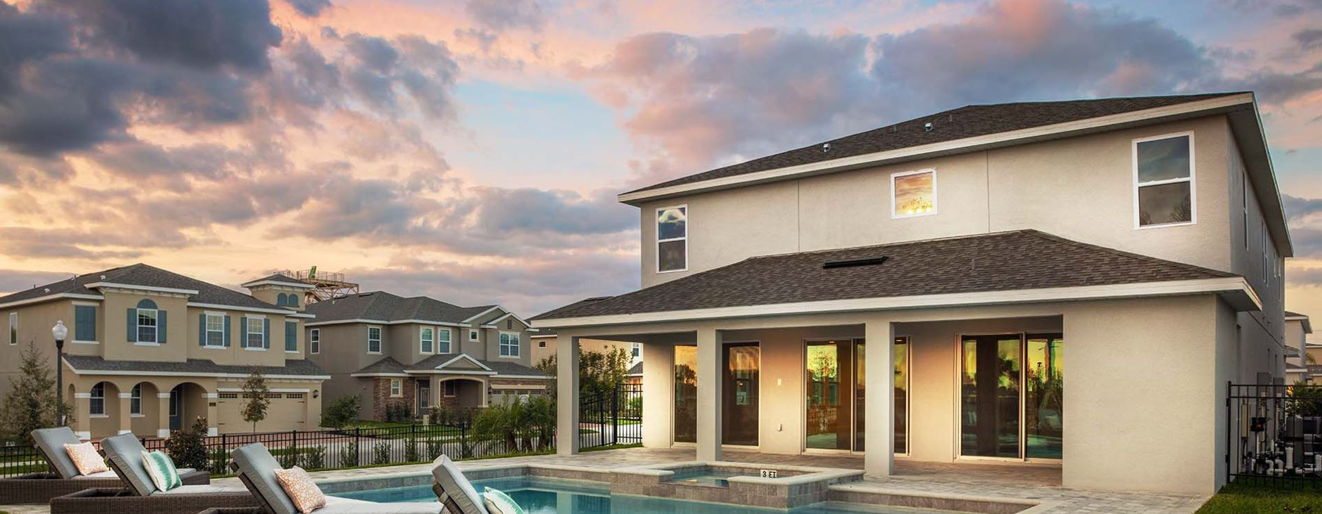 Marvelous Exterior Of A Encore Vacation Home At Reunion Resort