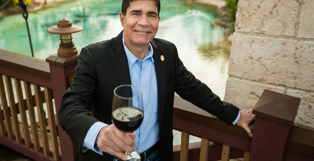 Master Sommelier George Miliotes of Wine Bar George in Orlando (Photo: Mike Gluckman)