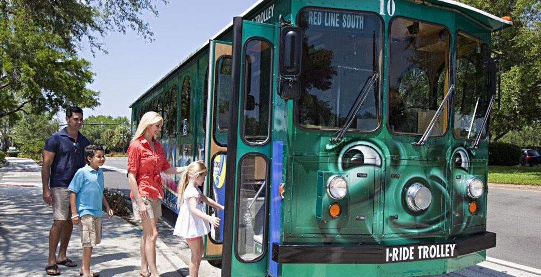 I-Ride Trolley in Orlando (Courtesy I-Drive Business District)