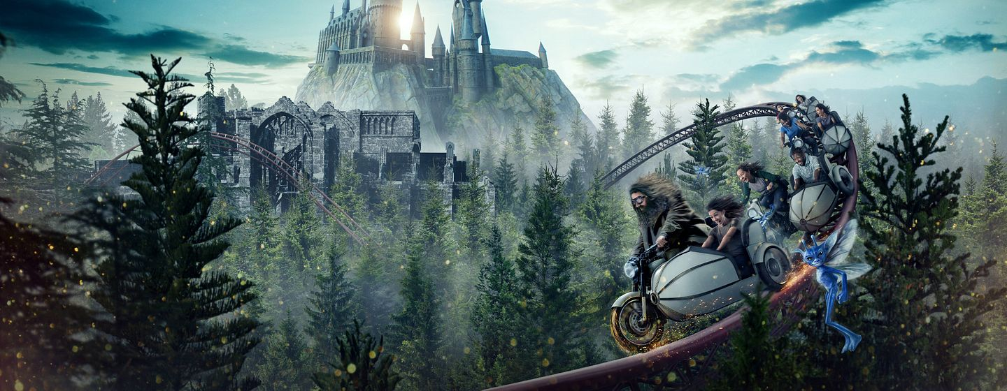 Hagrid's Magical Creatures Motorbike Adventure at Universal Orlando Resort