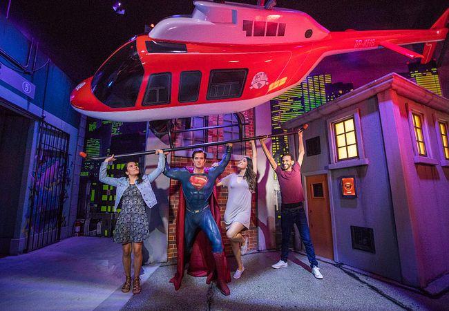 Henry Cavill as Superman at Madame Tussauds Orlando