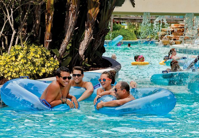 Lazy River at Holiday Inn Vacations at Orange Lake Resort in Orlando