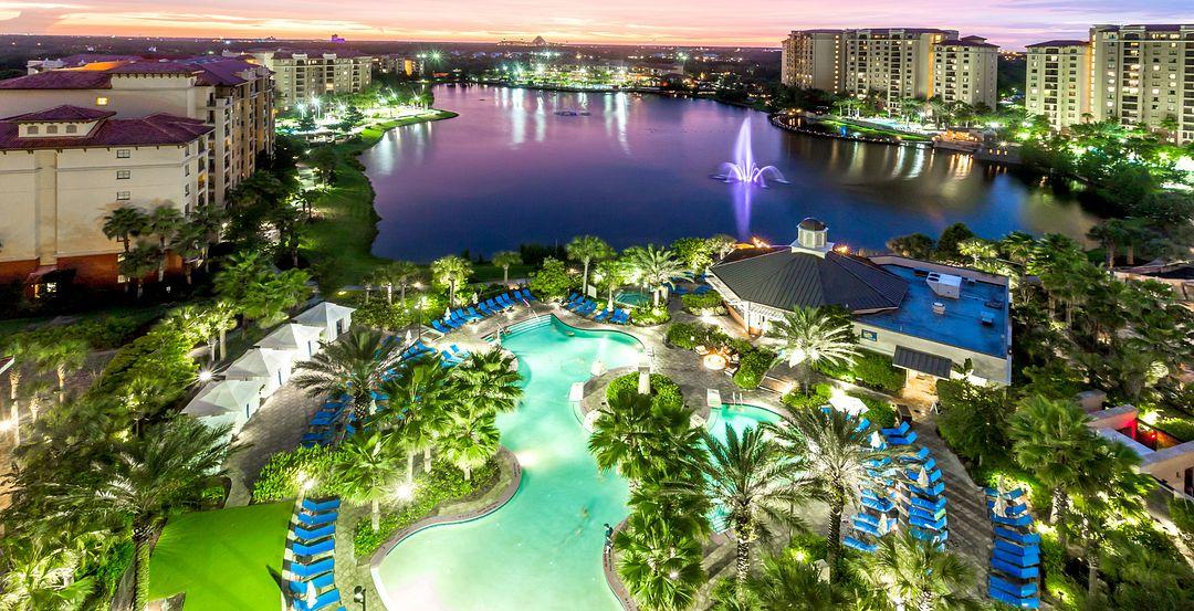 Dive Into Five Lagoon-Style Pools at Wyndham Grand Orlando Resort Bonnet Creek