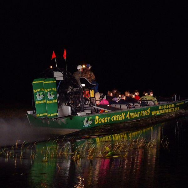 Boggy Creek Night Airboat Ride Adventure | Visit Orlando