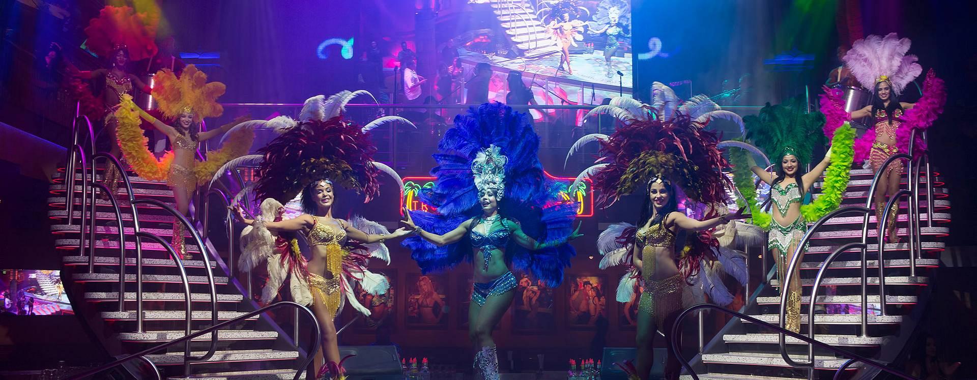 Mango's Tropical Cafe Orlando Samba Show dancers