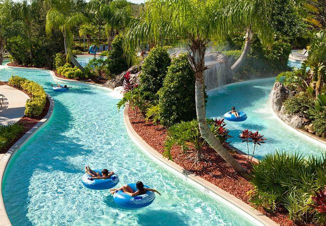 Lazy River at Hilton Orlando