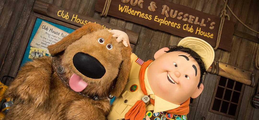 Dug & Russell's Wilderness Explorers Club House en el parque Disney's Animal Kingdom.