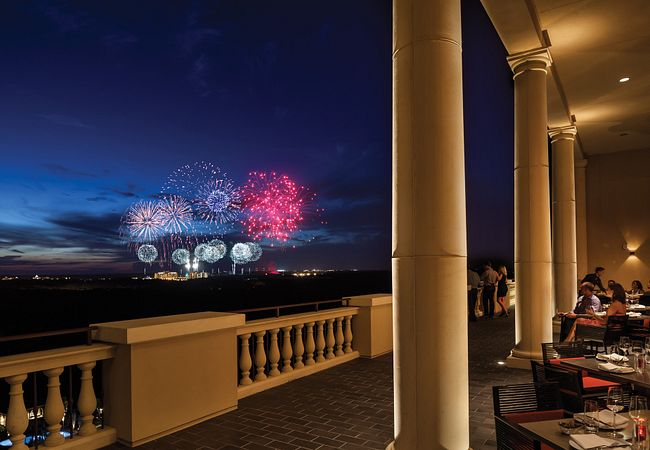 View Disney's Holiday Fireworks From Capa at Four Seasons Resort Orlando