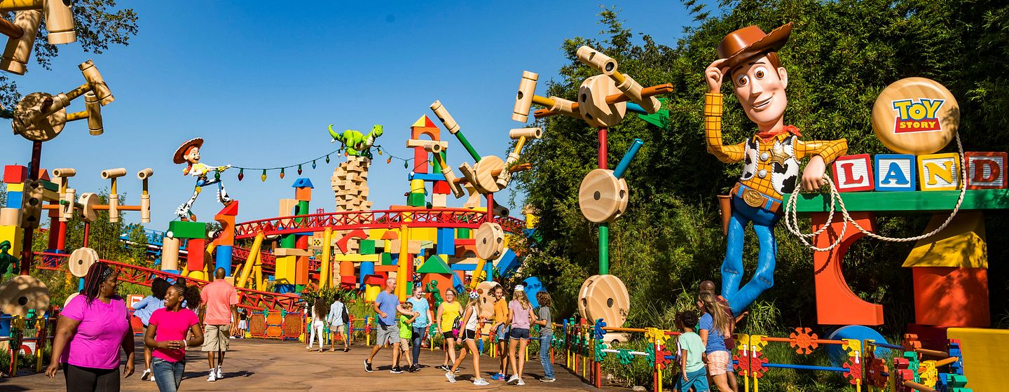 Toy Story Land at Disney's Hollywood Studios in Orlando