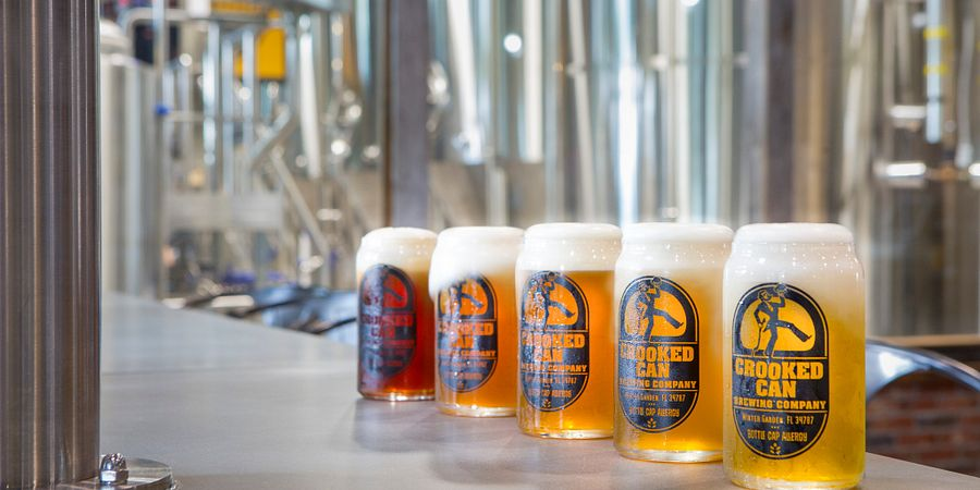 Crooked Can Brewing in Winter Garden