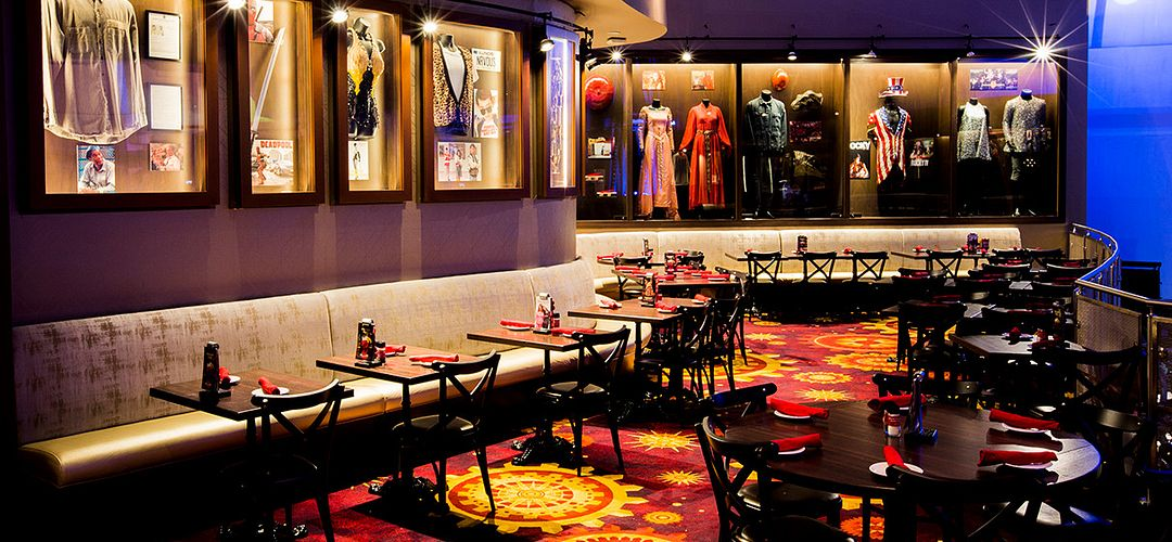 Interior do Planet Hollywood Observatory