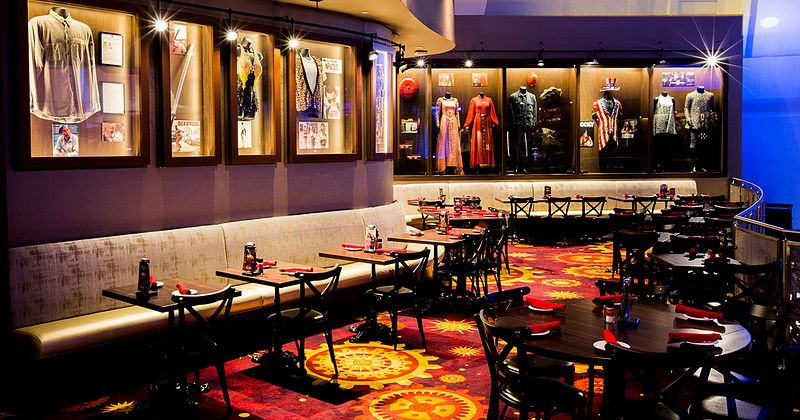 Planet Hollywood Observatory interior