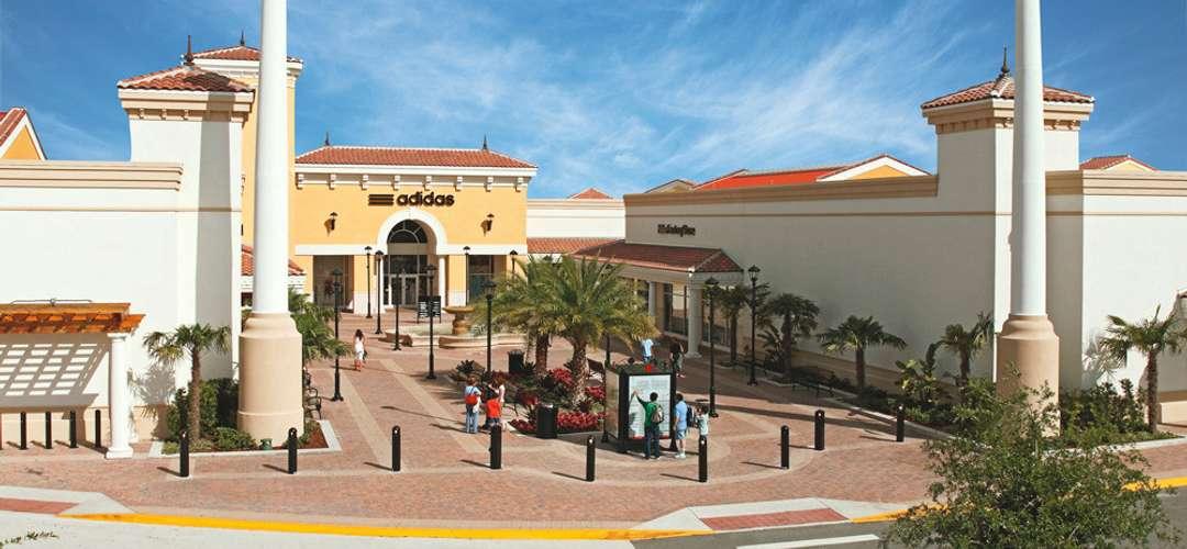 Orlando International Premium Outlets Adidas entrance