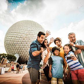 Family Fun at Disney's Epcot