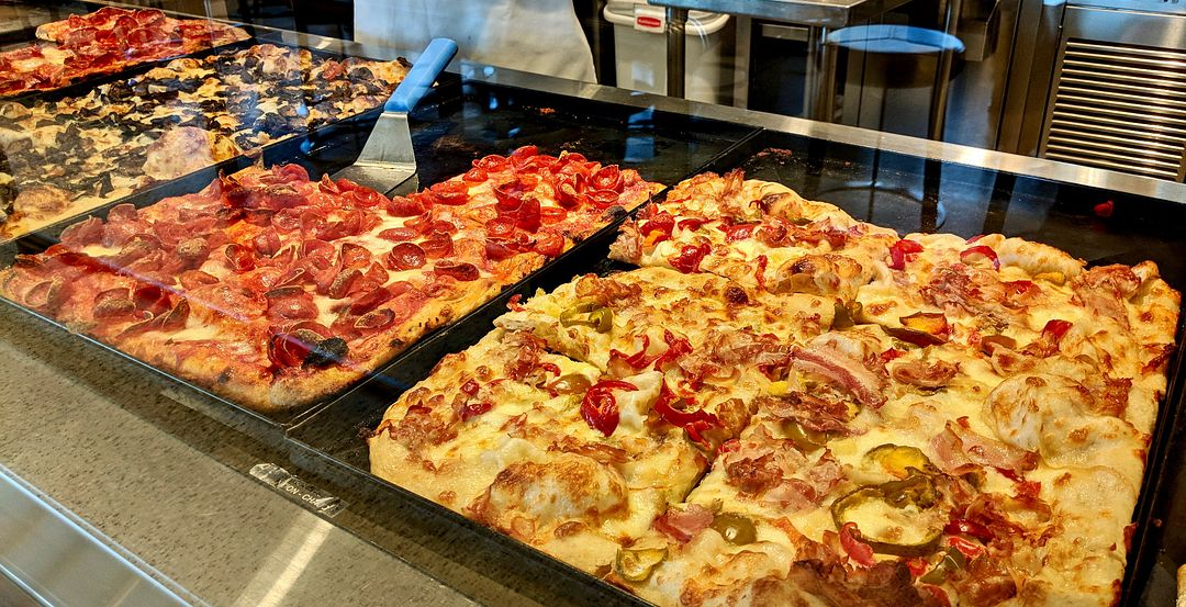 Pizza Is Available by the Slice at Pizza Ponte
